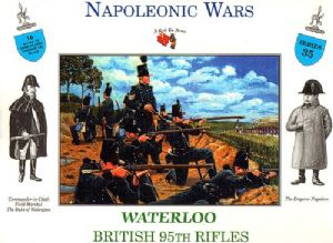 CALL3235  BRITISH 95th RIFLES WATERLOO